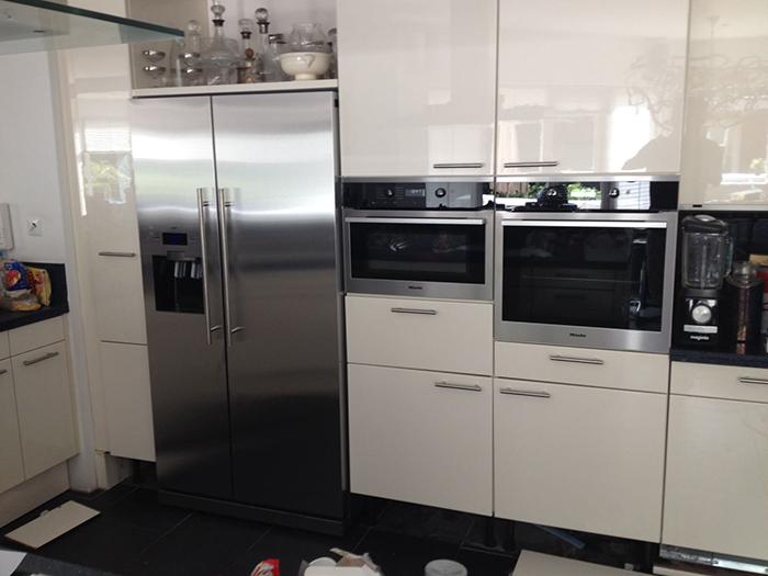 Keuken aanpassen voor nieuwe inbouw apparatuur nuis b v
