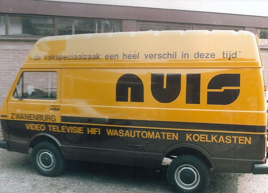 Nuis b.v. bus jaren 80